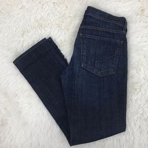 Citizens of Humanity Womens Straight Leg Jeans